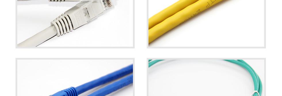超五类非屏蔽网络跳线